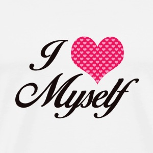 I LOVE MYSELF - Men's Premium T-Shirt