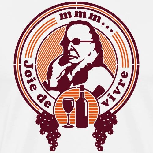 Joie de Vivre - Men's Premium T-Shirt