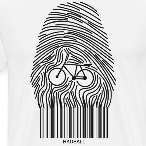 Radball | Fingerprint - Männer Premium T-Shirt