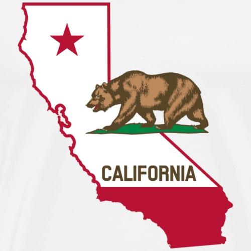 california - Männer Premium T-Shirt