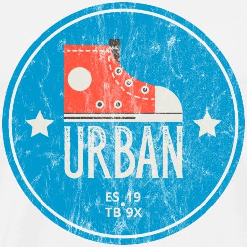URBAN - Streetball Sneakers Turnschuhe Sport Shirt - Männer Premium T-Shirt