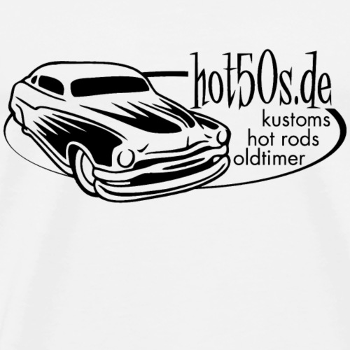 Hot50s Logo - Männer Premium T-Shirt