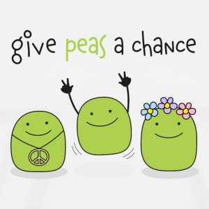 Give peas a chance! - Männer Premium T-Shirt