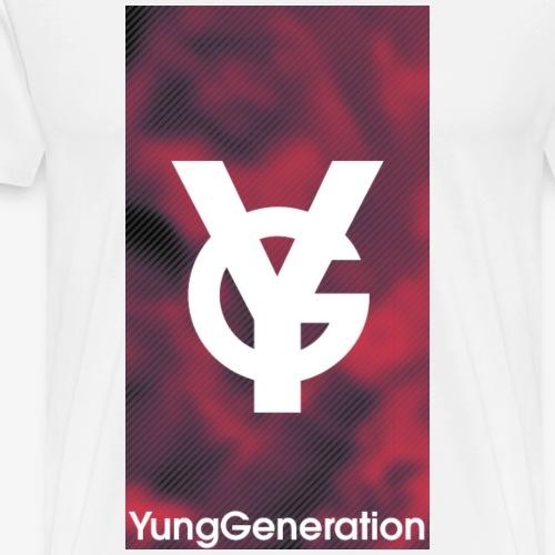 YungGeneration Blood - Männer Premium T-Shirt
