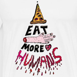 Eat more Humans - Männer Premium T-Shirt