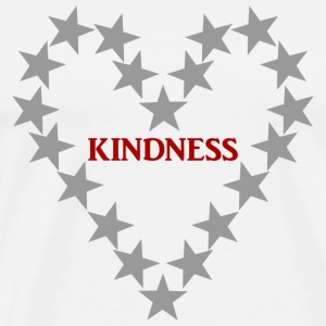 KINDNESS GREY - Männer Premium T-Shirt