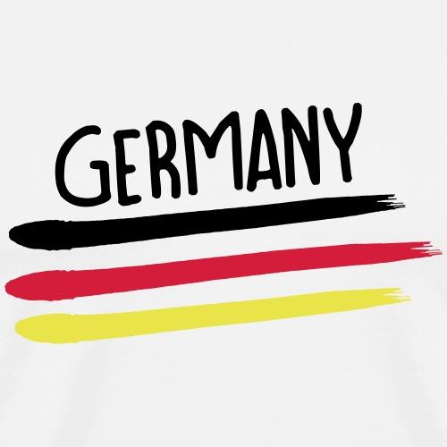 Germany Weltmeisterschaft 2018 Fussball WM T-Shirt - Männer Premium T-Shirt