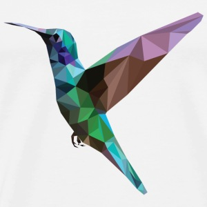 Colorful Hummingbird - Mannen Premium T-shirt