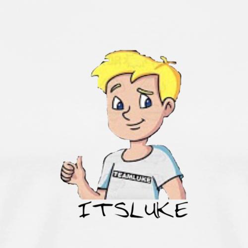 ItsLuke Cartoon Design - Men's Premium T-Shirt