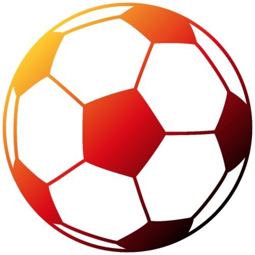 Fussball in deutschen Farben - Männer Premium T-Shirt