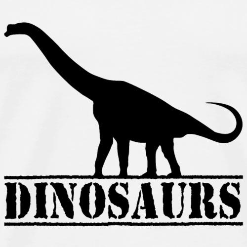 Brachiosaurus Dino - Männer Premium T-Shirt