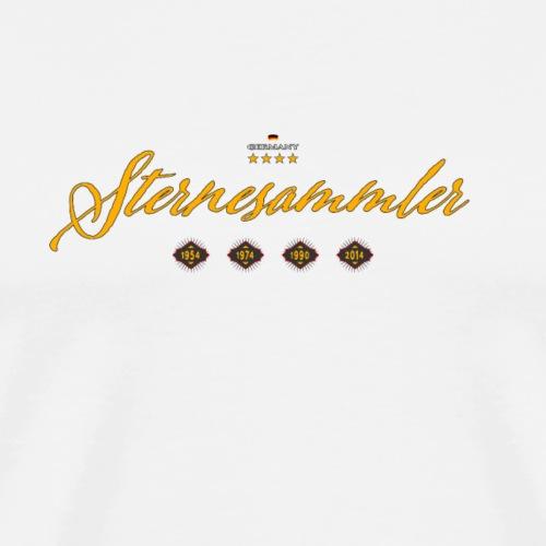 Sternesammler Deutschland - Männer Premium T-Shirt