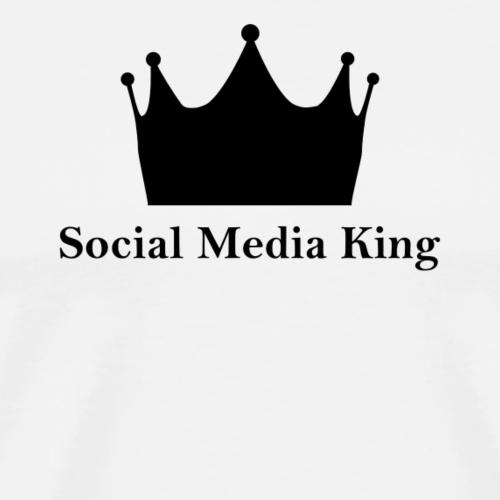 Social Media King - Männer Premium T-Shirt
