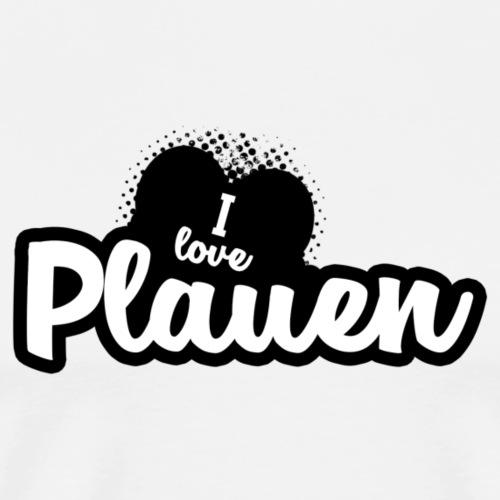 I Love Plauen - Männer Premium T-Shirt