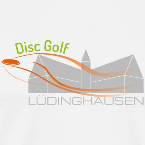 Disc Golf Lüdinghausen - Männer Premium T-Shirt