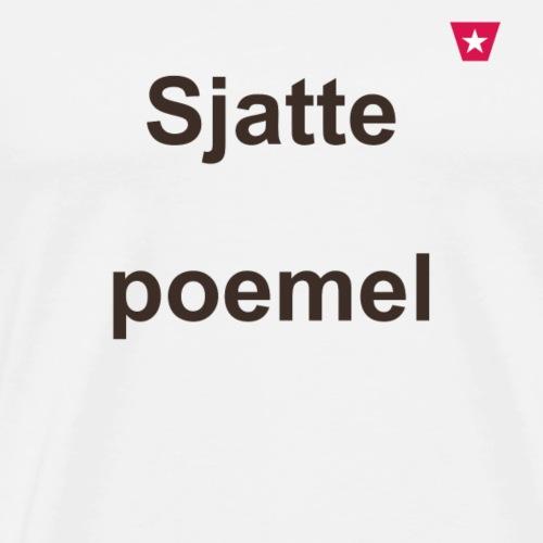 Sjattepoemel ms vert b1 - Mannen Premium T-shirt