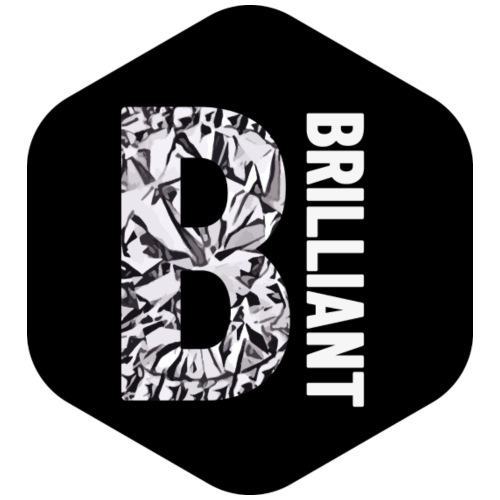 B brilliant black - Mannen Premium T-shirt