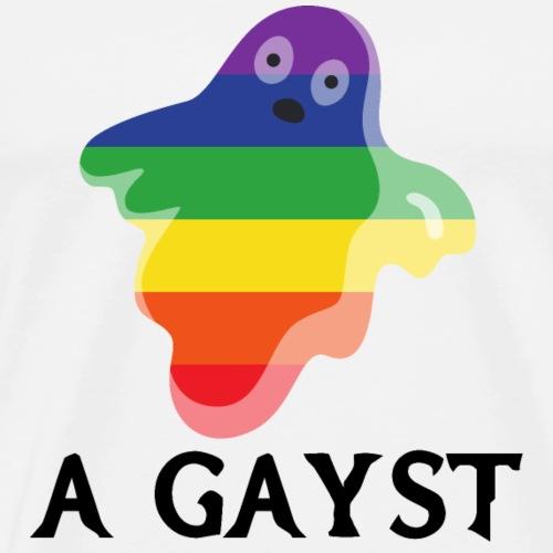 Gayst   Halloween   LGBT   ghost - Men's Premium T-Shirt