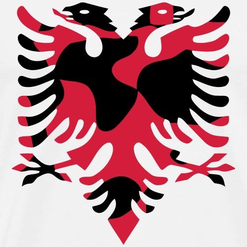 Shqipëria Albania Albanien EAGLE CAMO / CAMOUFLAGE - Männer Premium T-Shirt