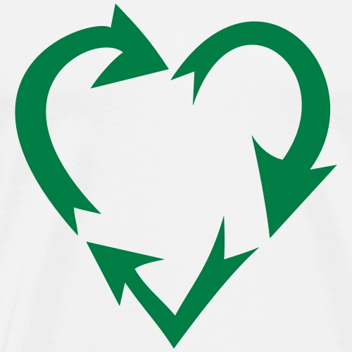 Liebe zur Umwelt (Farben anpassbar!) - Männer Premium T-Shirt