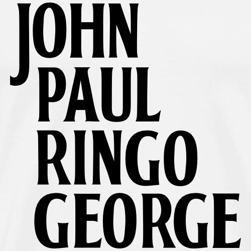 john-paul-ringo-george - Männer Premium T-Shirt