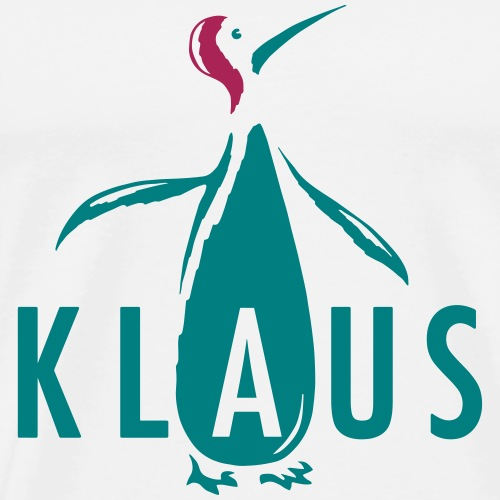 KlausPinguin - Männer Premium T-Shirt