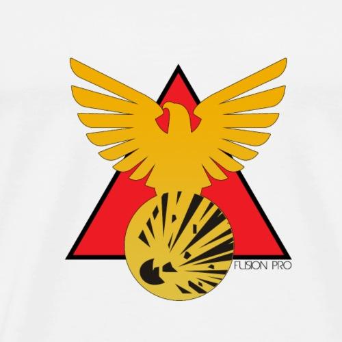FUSION Pro Official Badge Logo - Men's Premium T-Shirt