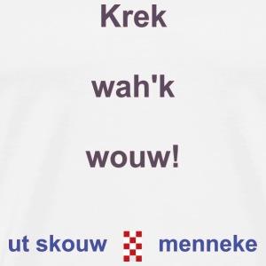 Krek wak wouw2 b - Mannen Premium T-shirt