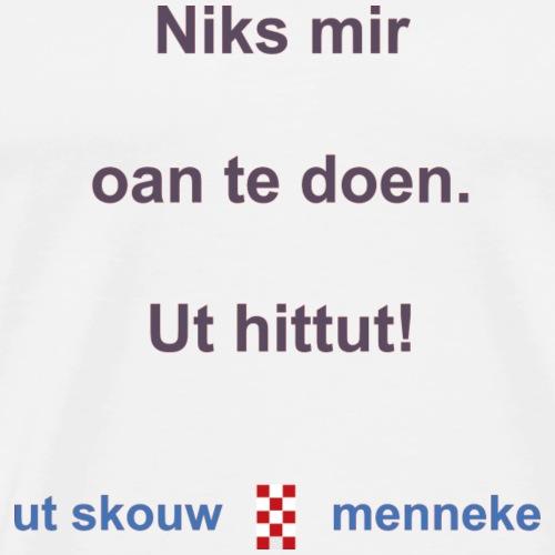 Ut hittut b - Mannen Premium T-shirt