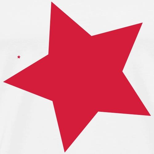 Roterstern - Männer Premium T-Shirt