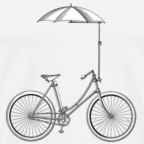 Vintage Fahrrad Old School Minimalistisch Geschenk - Männer Premium T-Shirt
