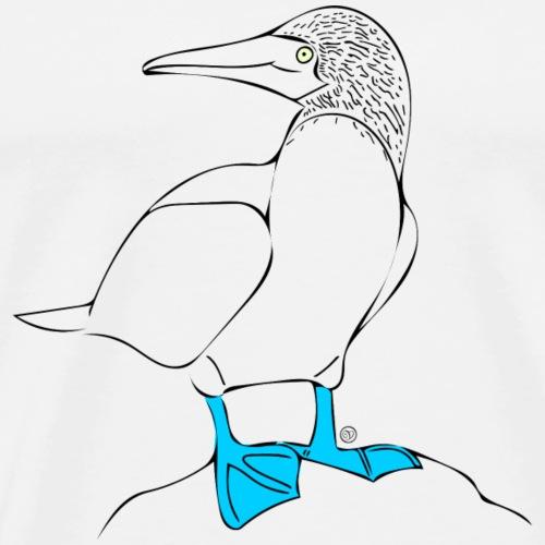 Bluey, der Blaufußtölpel - Männer Premium T-Shirt