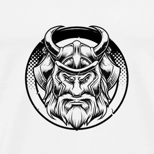 Odin (heller Hintergrund) - Männer Premium T-Shirt