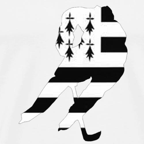 hockeyeur et breton - T-shirt Premium Homme