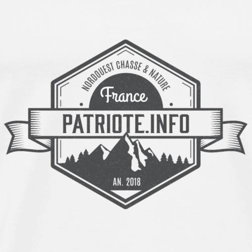 Hexagone patriote info style 13 - T-shirt Premium Homme