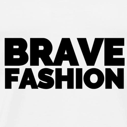 BraveFashion Branded (Black) - Männer Premium T-Shirt
