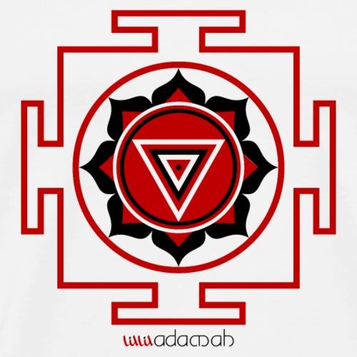 Yantra of Kali Goddess - Men's Premium T-Shirt
