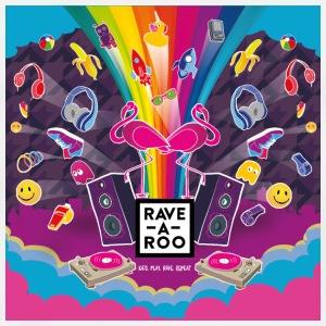 Rave-A-Roo Square - Men's Premium T-Shirt