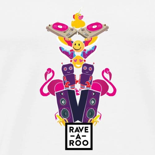 Rave-A-Roo Totem - Men's Premium T-Shirt