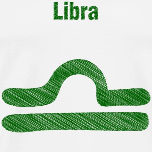 Bilancia - Maglietta Premium da uomo