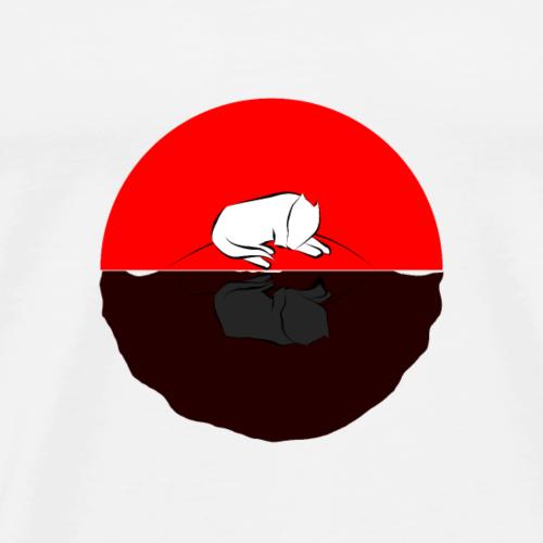 Reflection red - Men's Premium T-Shirt