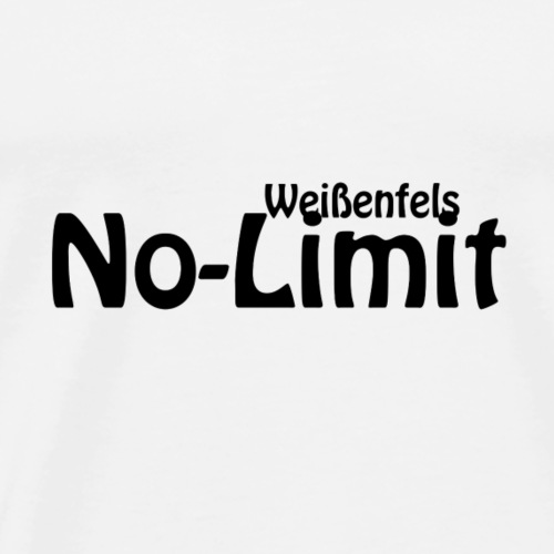 No limit weissenfels - Männer Premium T-Shirt
