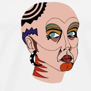 Mujer tribal - Camiseta premium hombre