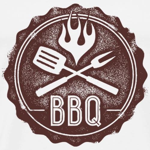 BBQ Stempel - Männer Premium T-Shirt