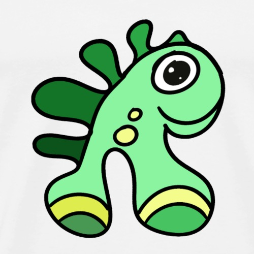 a-fun-animal-dinosaur - Men's Premium T-Shirt
