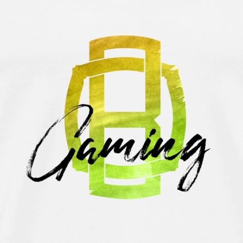 OB Gaming / Schwarzer Schriftzug - Männer Premium T-Shirt