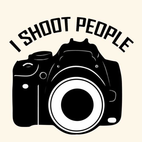 I shoot people - Männer Premium T-Shirt
