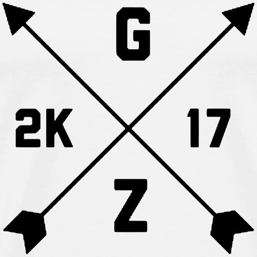 Groundzero kreuz - Männer Premium T-Shirt
