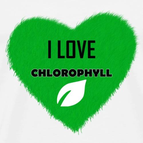 I love Chlorophyll - Männer Premium T-Shirt