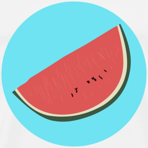 Watermelon I gift - Men's Premium T-Shirt
